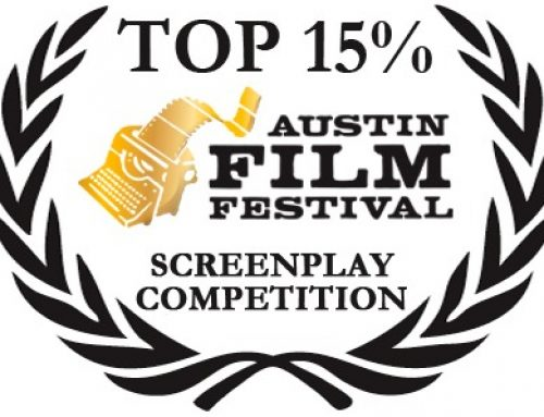 Hooked Named Top 15% in Austin Film Festival Screenplay Competition